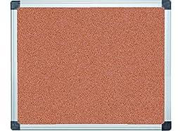 MasterVision Maya Super Value Cork Bulletin Board, Aluminum Frame, 2\' x 3\' (CA031170)