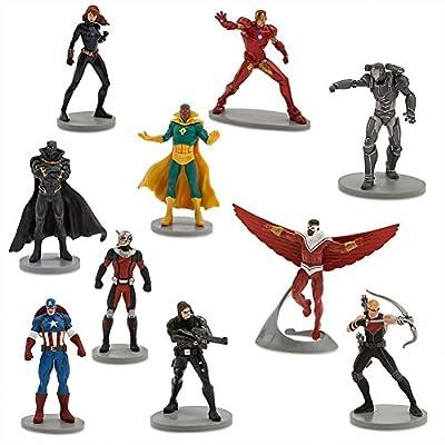 Captain America: Civil War Deluxe Action Figure Set - 10 Characters