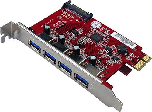 Fast U3 Mac (MEPI-4PU3M) 4ポート高速USB3.0PCI-Express拡張カード