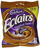 Cadbury Chocolate Eclairs Hazelnut 130 g (Pack of 12)
