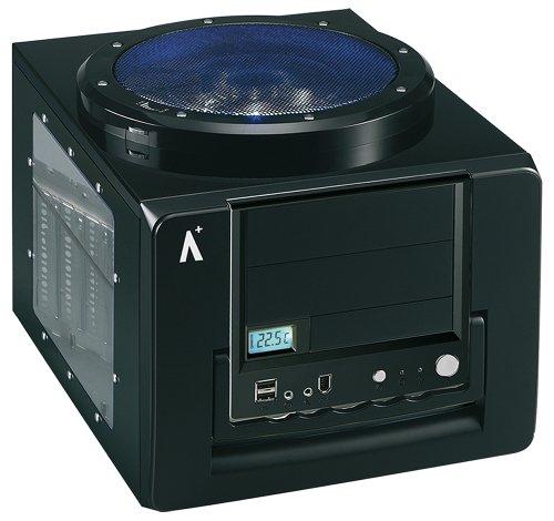Aplus Blockbuster Storm Black Micro ATX Case With Window - 120Mm Fan.