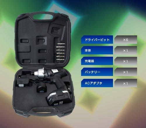 プロ仕様14.4V充電式インパクトドライバー EB-RM144V