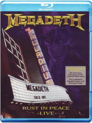 Megadeth: Rust In Peace Live [Blu-ray]