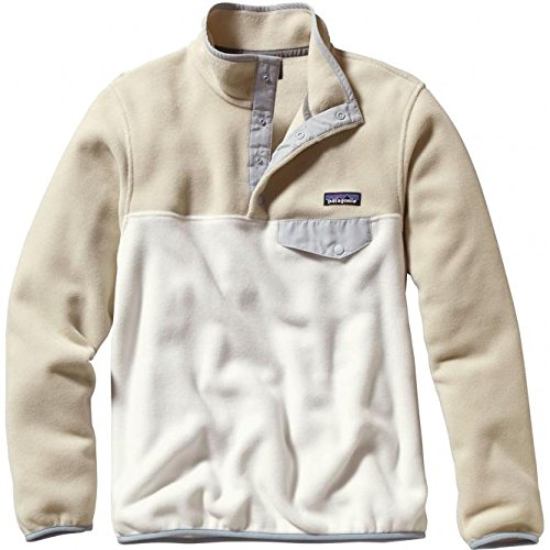 Patagonia LW Synchilla Snap-T Fleeve Pullover - Women's Bleached Stone Large