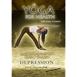 "Yoga for Health DVD "" Depression"""