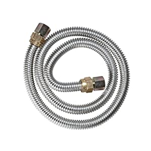 Watts Dormont 30-4242-60B Gas Range 5/8-Inch Diameter Connector, 60-Inch Length
