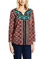 Janis Blusa (Granate / Multicolor)