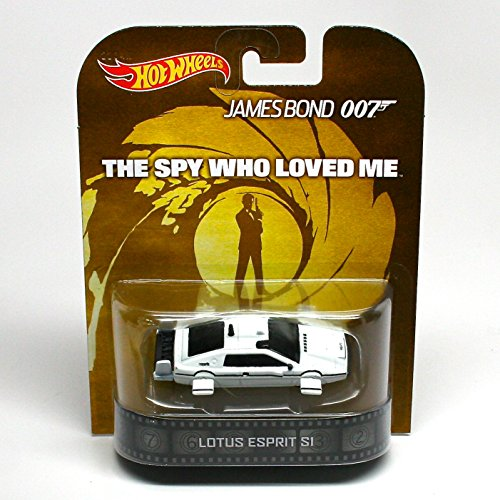 Lotus Epsrit S1 - The Spy Who Loved Me / James Bond 007 - Hot Wheels 2013 Retro Entertainment Series Die Cast Vehicle