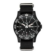 Traser P6600 Elite Red Tritium Watch with Nato Strap