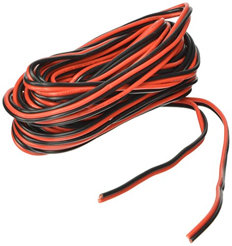 20ga 25' Red/Black Hookup Wire 12V DC (Wiring compare prices)
