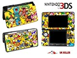 POKEMON WORLD Nintendo 3DS Console Vinyl Skin Cover In a Retail Pack. Order Before 4pm and ill post the same day by Fast 1st Class UK Post.