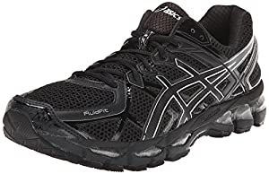 ASICS Men's Gel-Kayano 21 Running Shoe,Onyx/Black/Silver,8.5 M US
