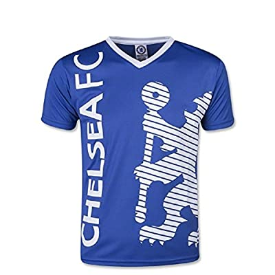 Chelsea FC Youth Soccer Training Jersey-Blue/White-XL