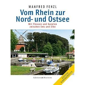 eBook Cover für  Vom Rhein zur Nord und Ostsee Mit Fl uuml ssen und Kan auml len zwischen Ems und Elbe