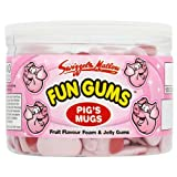 Swizzels Matlow Fun Gums 120 Pig's Mugs