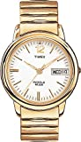 Timex Mens T21942 Elevated Classics Dress Gold-Tone Expansion Band Watch