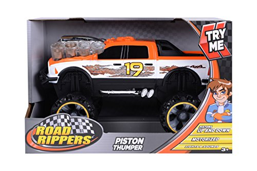 Toy State Road Rippers Light and Sound Piston Thumper Ram 1500 Vehicle