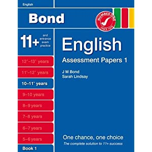 New Bond Assessment Papers English 10-11+ Years Book 1 (Paperback)