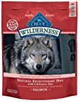 Blue Buffalo Wilderness Grain Free Dry Dog Food, Salmon Recipe, 24-Pound Bag from Blue Buffalo