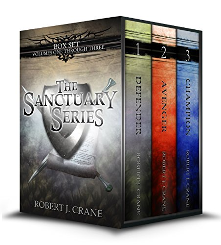 The Sanctuary Series, Books 1-3: Defender, Avenger and Champion (Free Fantasy compare prices)