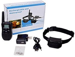 Amazon.com : 300 Yard Rechargeable 100LV Level Shock Vibra
