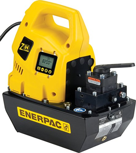 Enerpac Zu4308Lb Manual 115 Volt Electric Pump With Valve Type Vm33 And Liquid Crystal Display