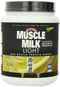 CytoSport Muscle Milk Light, Chocolate Peanut Butter, 1.65 Pound