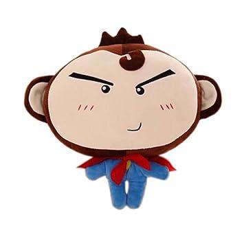 coussins créatifs style de singe en peluche jouets/poupées