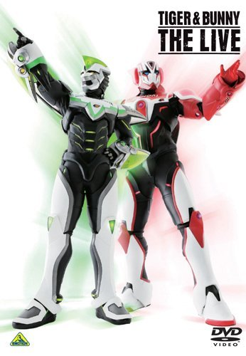 TIGER & BUNNY THE LIVE DVD [Japan Import]