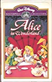 Alice in Wonderland (Walt Disney Masterpiece Collection) [VHS]