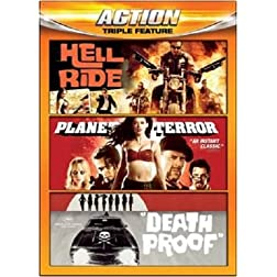 Action Triple Feature (Hell Ride / Planet Terror / Death Proof)