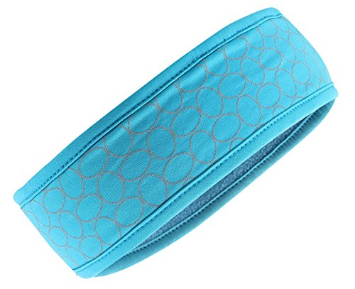 Empower NiteBright Ultra-Reflective Fleece Headband, Teal
