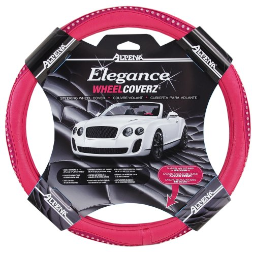 Alpena 10404 Pink Bling Steering Wheel Cover (Steering Wheel Cover With Bling compare prices)