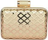 Novelty Bags Women's Clutch (Gold, NOVELTY BAGS_40)