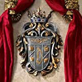 Design Toscano Count Dracula's Coat Of Arms Wall Plaque Multicolored
