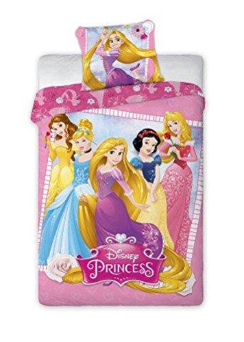 Disney Princess biancheria da letto biancheria da letto per bambini 140x 200cm (Oeko Tex Standard 100) 001