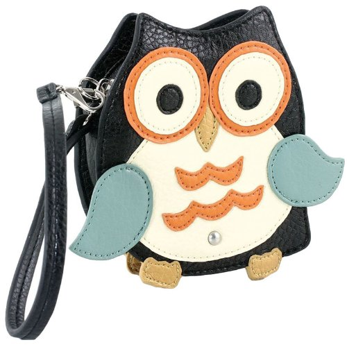 Sleepyville Critters Mini Owl Coin Purse Wristlet