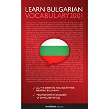 Learn Bulgarian: Word Power 2001 Audiobook by  Innovative Language Learning Narrated by  Innovative Language Learning