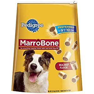 Pedigree MarroBone Snack Food for Dogs, 6-Pound Bag