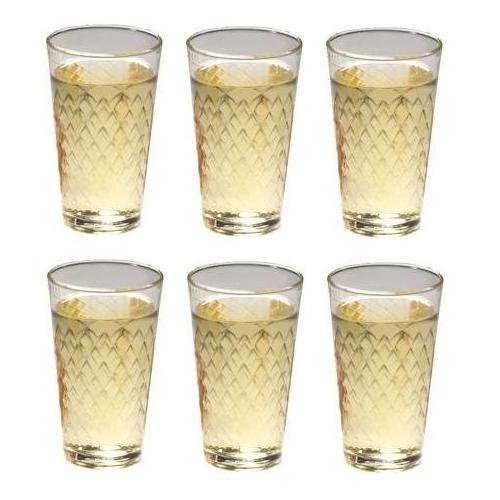 Viva Lot de 6 verres à cidre 0,25 l