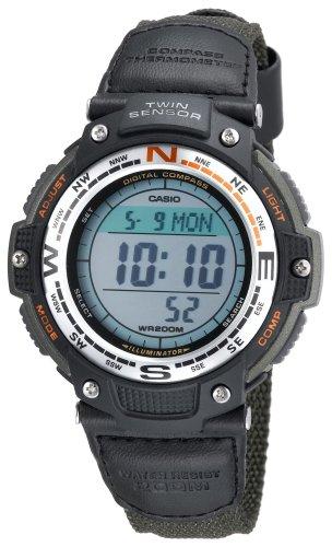 卡西欧手表海淘:Casio SGW100B-3V 卡西欧男士运动手表