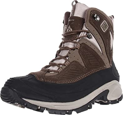 Columbia Men's Snowtrek Snow Boot,Mud/Tusk,9 M US
