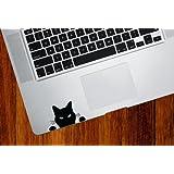 "Black Cat ""Soon..."" - Trackpad / Keyboard - Vinyl Decal"