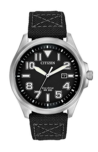 citizen-mens-quartz-watch-with-black-dial-analogue-display-and-black-fabric-strap-aw1410-08e