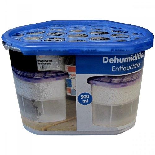 Luftentfeuchter 500ml Granulat Raumentfeuchter Feuchtigkeitskiller Dehumidifier