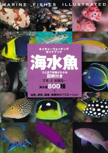 海水魚―ひと目で特徴がわかる図解付き (ネイチャーウォッチングガイドブック)