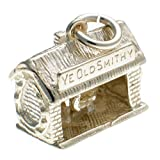 Welded Bliss Sterling 925 Silver Ye Olde Smithy Blacksmith's Moveable Charm WBC1282