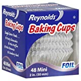 Reynolds Baking Cups Foil Mini 2 Inch 48 Ct