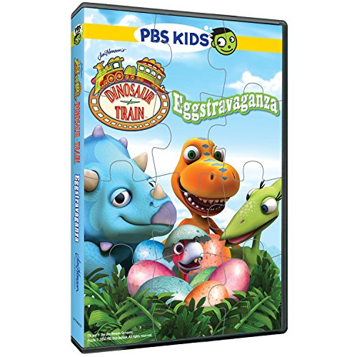 DVD : Dinosaur Train: Eggstravagaza & Puzzle