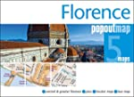 Florence PopOut Map - handy, pocket-s...